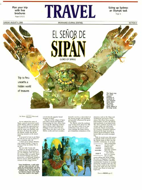 "Milwaukee Journal Sentinel ""Sipan"""